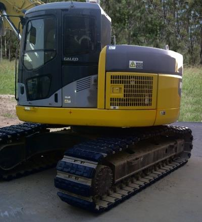 Rubber Pads for excavators